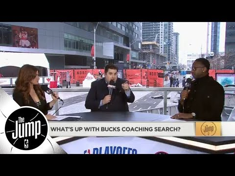 Brian Windhorst breaks down concerns with Bucks head coaching job | The Jump | ESPN