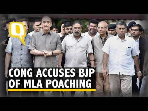 Congress Approaches EC to Complain Against BJP for MLA 'Poaching'