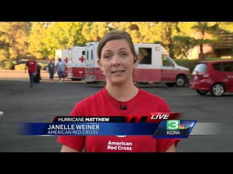 Sacramento Red Cross helping hurricane victims - 동영상