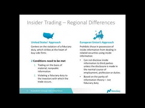 How to Monitor for Insider Trading