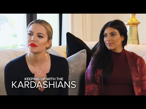 Best  Keeping Up With the Kardashians  Moments of Kim, Khloé & Kourtney Kardashian | E!
