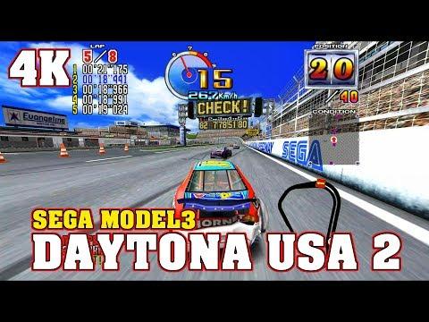 DAYTONA USA 2 POWER EDITION / 4K 60FPS RTX 2080ti / SuperModel 3 MODEL 3 Emulator