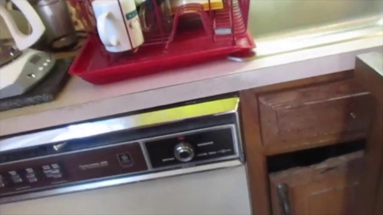 Vintage Ge Potscrubber 980 Dishwasher Youtube