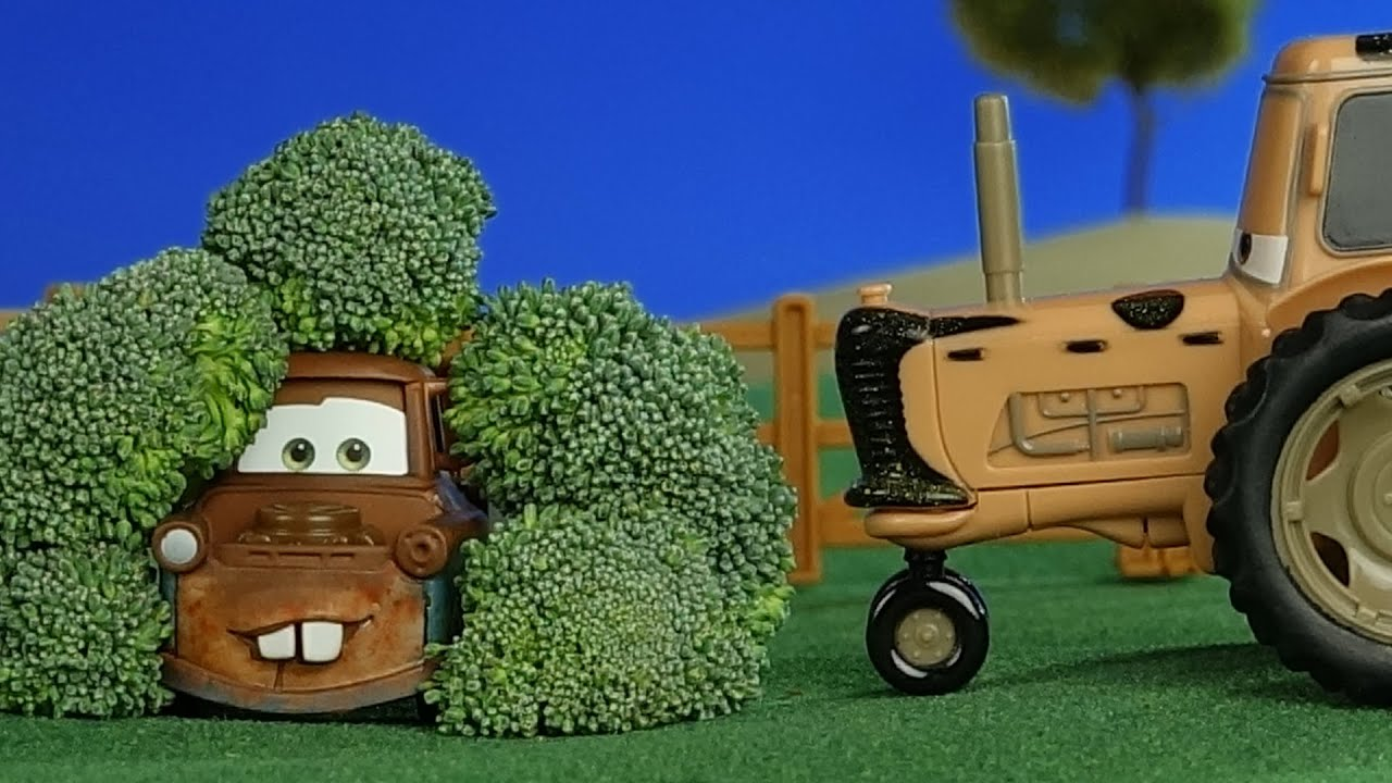 Tractor From Cars : Disney pixar cars movies tractor tipping with mater and