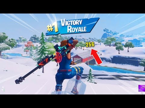 Fortnite But I Can Only Noscope.. (snipers)