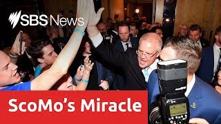 Prime Minister Scott Morrison thanks Australia after 'miracle' election victory