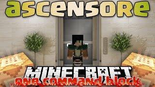 Minecraft ITA - One Command Block: ASCENSORE FUNZIONANTE - Vanilla Mod