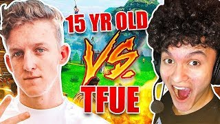 This 15 Year Old Kid is Better Than FaZe Tfue at Fortnite?