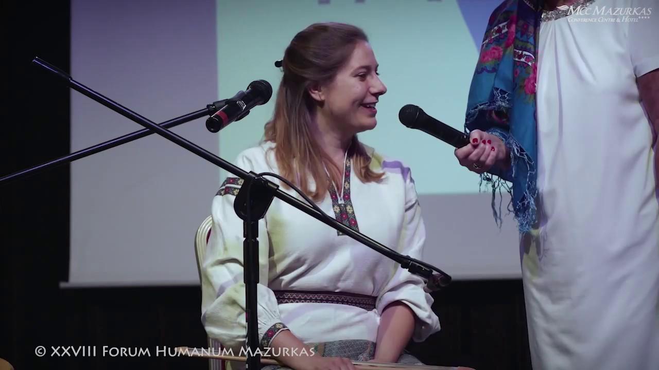 XXVIII FHMazurkas- Scena Talentow-prezentacja zespołu Karma trio.....