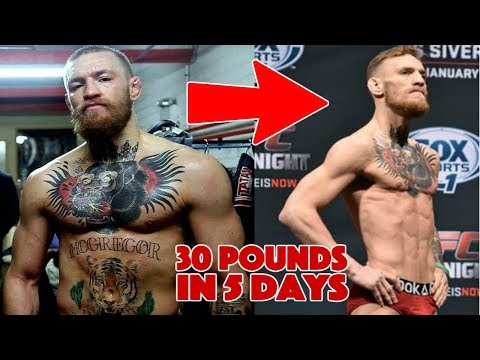 How MMA Fighters Lose 30 Pounds in 5 Days How to Cut Weight FAST