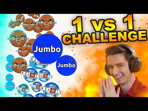 Agar.io - WHO GETS FIRST IN THE LEADERBOARD CHALLENGE !!