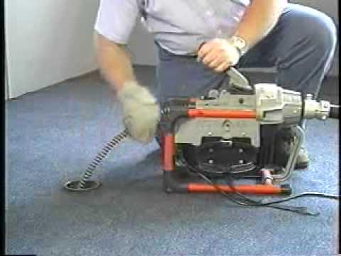 RIDGID K-60 Sectional Drain Cleaner