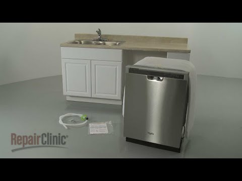 Charmant Whirlpool Dishwasher Installation (Model #WDF520PADM) ...