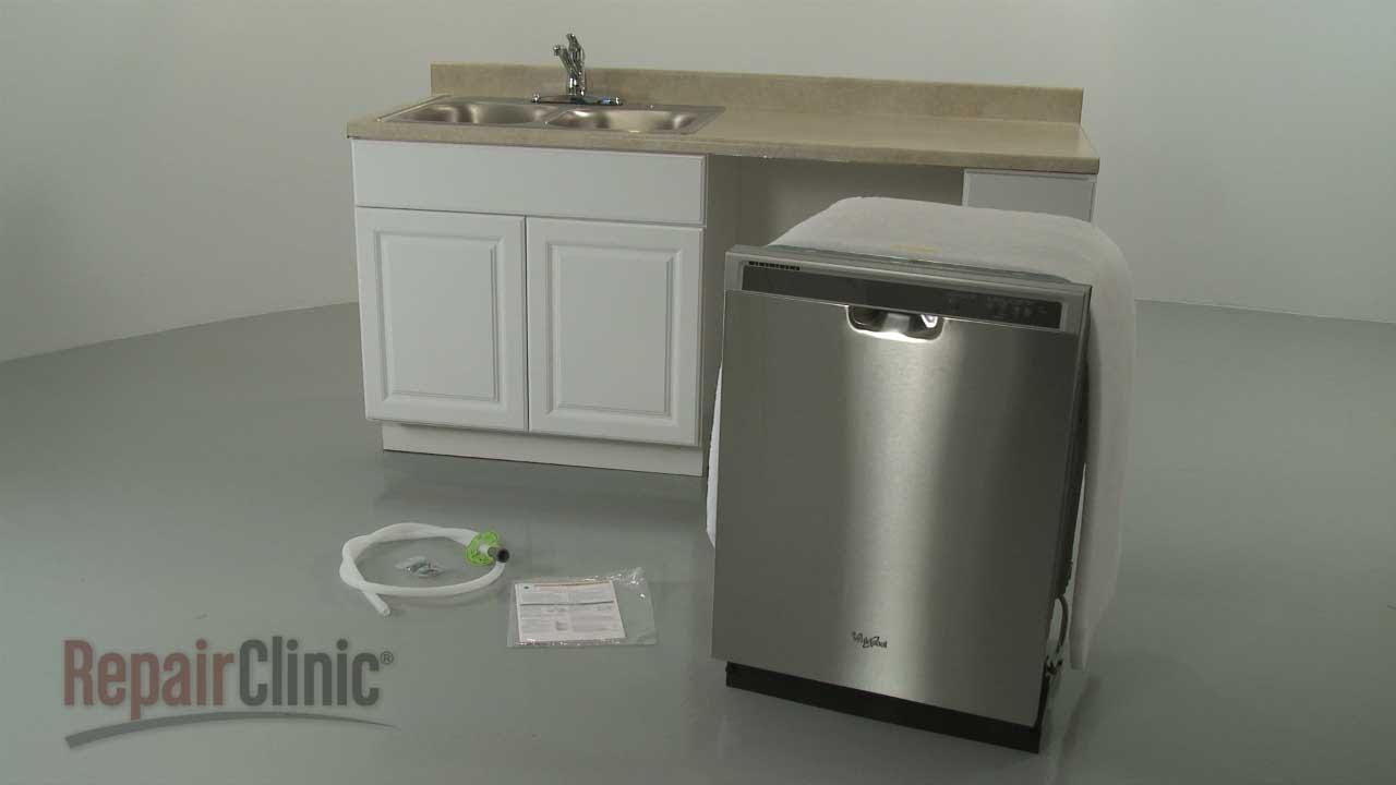 Whirlpool Dishwasher Installation (Model #WDF520PADM) on
