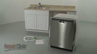 Whirlpool Dishwasher Installation (Model #WDF520PADM)