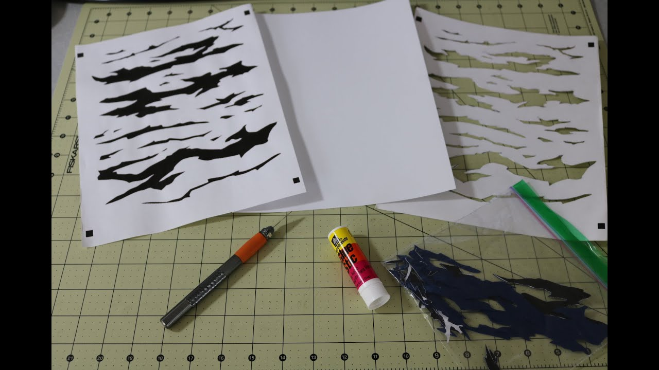custom stencils for painting