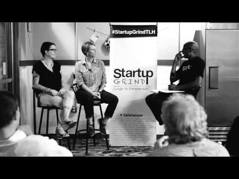 Jean Bates & Paula Lucas (Lucy&Leo's Cupcakery) at Startup Grind Tallahassee