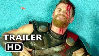 THOR RAGNAROK Blu Ray Trailer + BLOOPERS (2018) Deleted Scenes, Superhero Movie HD