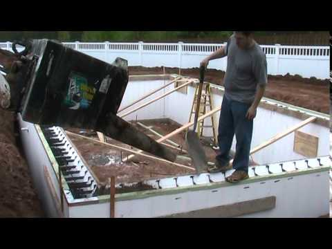 Build An In Ground Swimming Pool With Insulated Concrete Forms Tf Systems Thermoform Youtube