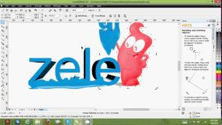coreldraw tutoral beginners how to save export and the difference between png and jpg