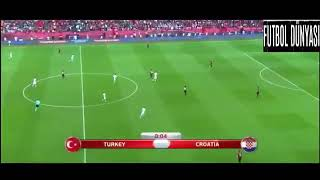 Türkiye-Hırvatistan 2018 Dünya Kupası Eleme Maçı Özeti 05.09.2017 #özet