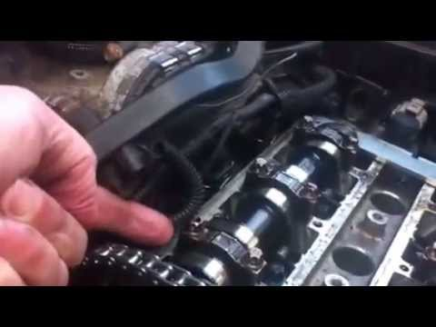 How To Use The Vauxhall Corsa Timing Chain Kit To Set The Timing  YouTube