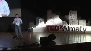 Rauan Kenzhekhanuly at TEDxAlmaty