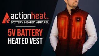 ActionHeat Battery Heated Vest - TheWarmingStore