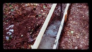Баня 3x6 из бруса / Заливаем фундамент(, 2015-08-25T15:57:17.000Z)