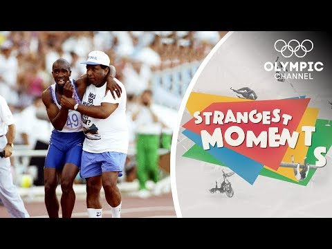 Download Youtube: Redmond's Olympic Heartache brings Fame & Praise   Strangest Moments