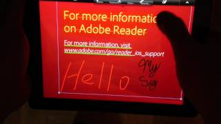 Review Of Adobe Reader For iPad