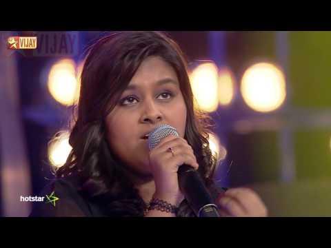 Super Singer Junior - Kaathoduthaan Naan Paaduven by Rohini