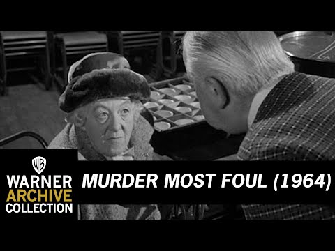 Murder Most Foul (1964) – Find Our Man Or Woman