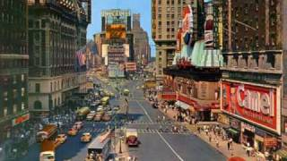 The American vintage life  in color (40's-50's-60's)