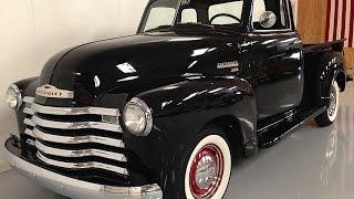 1950 Chevy pickup truck, fat fender, five window - MyRod.com