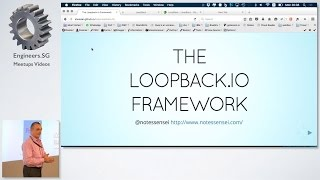 loopback.io Framework: Models, Phases and Identities - talk.js