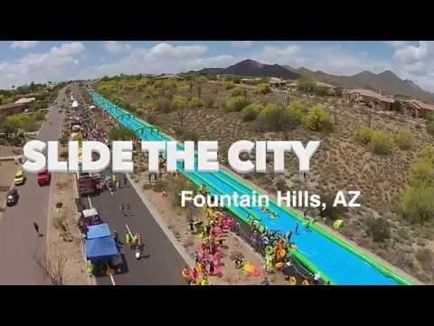 Slide the City Fountain Hills, AZ