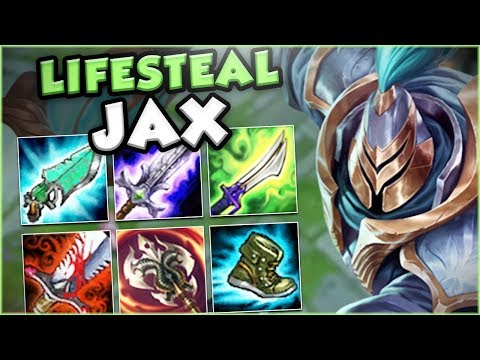 Download Youtube: THIS NEW FULL LIFESTEAL JAX BUILD IS GENIUS!! NEW LIFESTEAL JAX TOP GAMEPLAY! - League of Legends