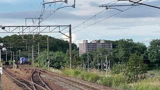 キハ283系特急おおぞら 千歳線上野幌通過