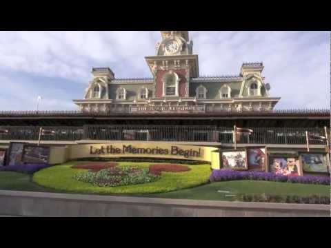 Walt Disney World Railroad 2013 - Magic Kingdom - Full Ride HD POV