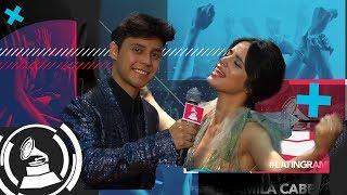 Camila Cabello y Mario Ruiz: un intercambio de gestos curiosos en Latin GRAMMY