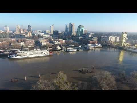 2017-01-14 Sacramento Discovery Park Flooding