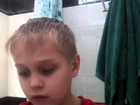 Причёска Егора Крида получилось:-)