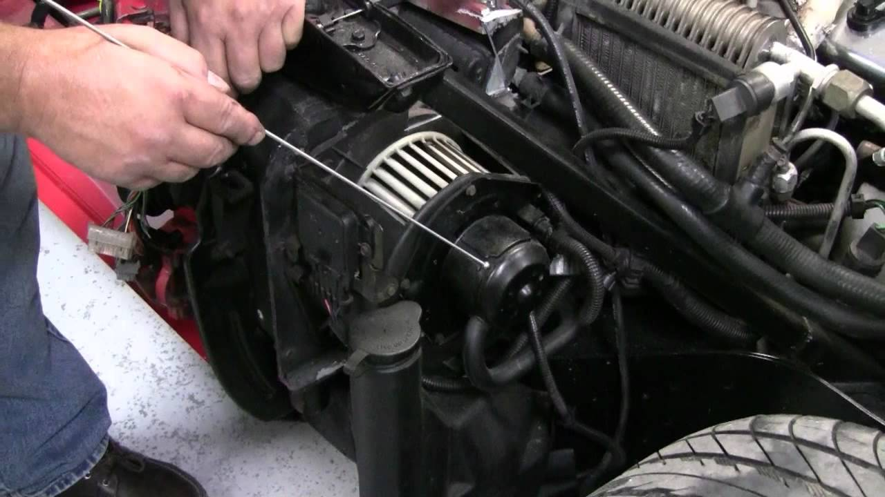 hight resolution of c4 corvette cutaway ac blower motor youtube c4 corvette heater fan wiring diagram
