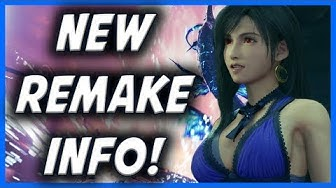 NEW FF7 Remake Info! New Areas, Post Game Content, Red XIII!