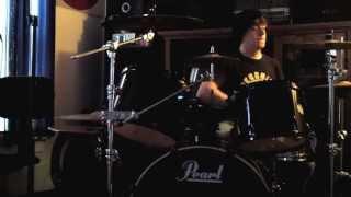 some melodic skate punk drumming