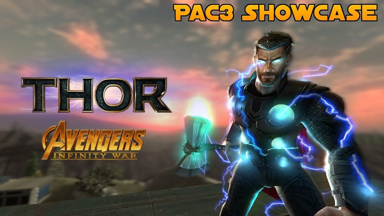 Pac3 Outfits Thor (Infinity War)