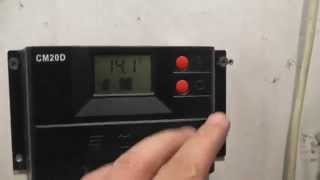 Обзор контроллера для солнечных батарей СМ20D