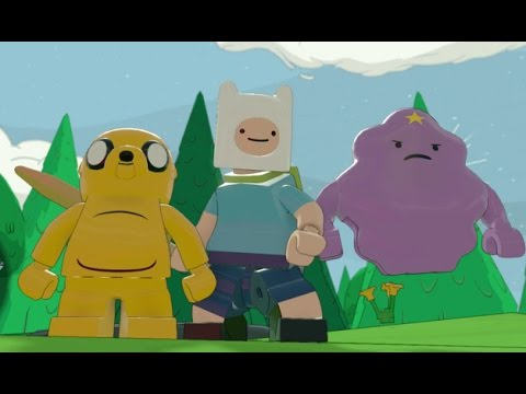 LEGO Dimensions - Adventure Time Adventure World Gameplay (Jake, Finn & Lumpy Space Princess)