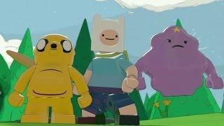 LEGO Dimensions - Adventure Time Adventure World Gameplay (Jake, Finn & Lumpy Space Princess)
